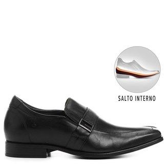 Sapato Social Couro Democrata Cosmo Taller