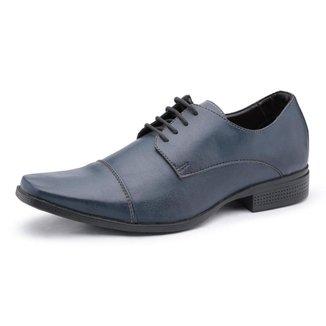 Sapato Social Couro Ecológico Ruggero Masculino