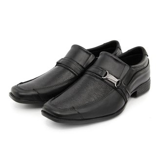 Sapato Social Couro Elástico Dia a Dia Conforto BR2 Footwear Masculino