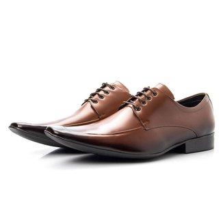 Sapato Social Couro Fechamento Cadarço Bigioni Masculino