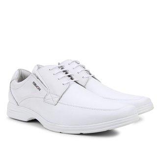 Sapato Social Couro Ferracini Básico React Masculina