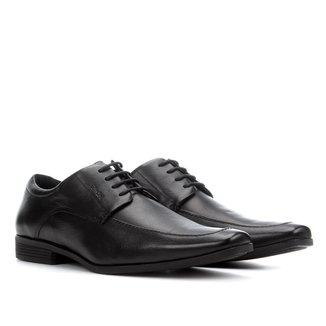 Sapato Social Couro Ferracini Clássico Cadarço