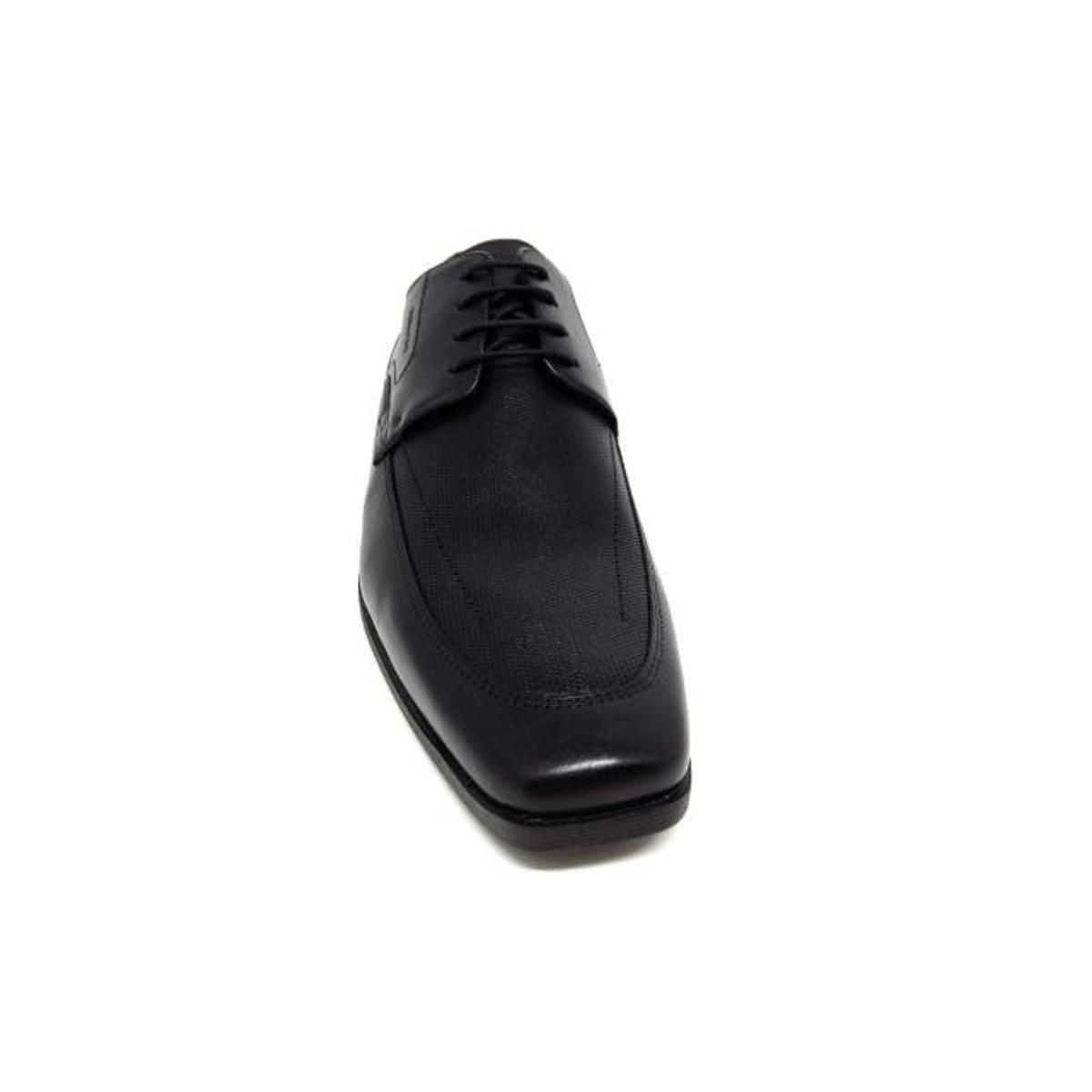 Sapato Social Couro Ferracini Liverpool Masculino - Preto