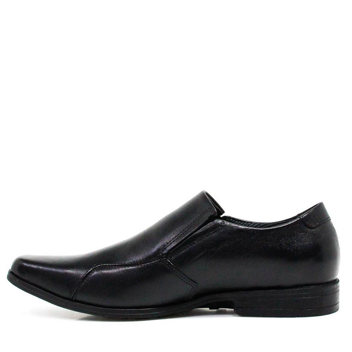 a9141e7baf Sapato Social Couro Ferracini Masculino - Preto - Compre Agora
