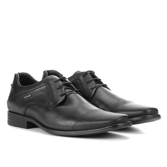 Sapato Social Couro Ferracini Perfuros Masculino