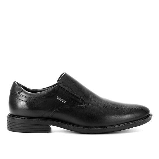 Sapato Social Couro Ferracini Tóquio Masculino - Preto