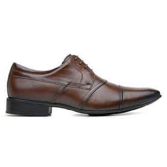 Sapato Social Couro Jota Pe Marrom Air 40059