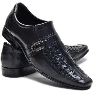 Sapato Social Couro Leoppe Masculino