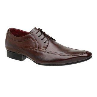 Sapato Social Couro Malbork  Mouro Masculino