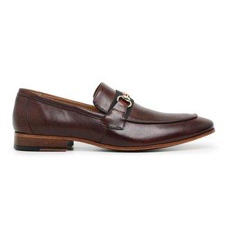 Sapato Social Couro Marrom Mouro Premium 58851