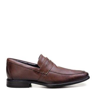 Sapato Social Couro Masculino CalCar Mouro Mariner