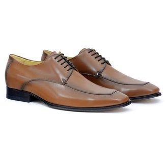 Sapato Social Couro Masculino Confort Dia a Dia Moderno