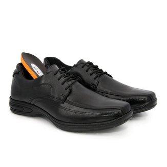 Sapato Social Couro Masculino Macio Confortável Dia a Dia