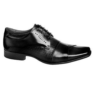 Sapato Social Couro Masculino Rafarillo