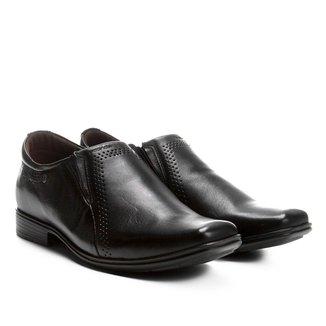 Sapato Social Couro Pegada Elástico Masculino