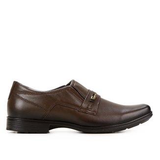 Sapato Social Couro Pegada Presence Masculino