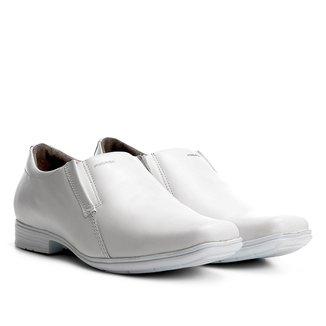 Sapato Social Couro Pegada Sem Cadarço Masculino