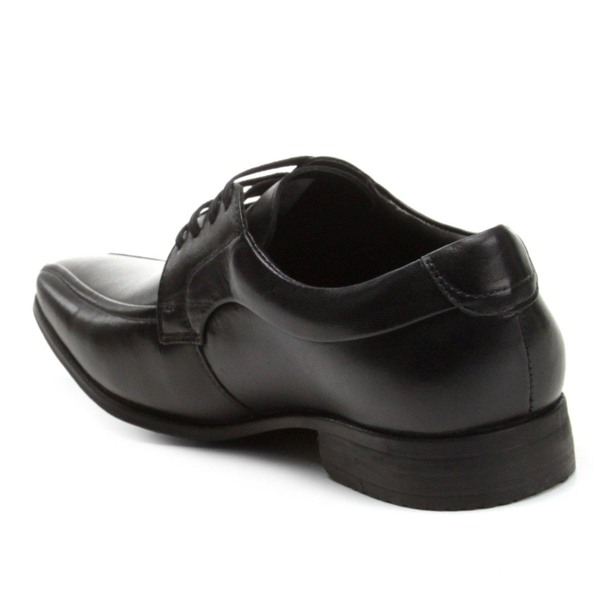 Sapato Preto Sapato Social Masculino Spencer Social Pipper Couro UdwPq1