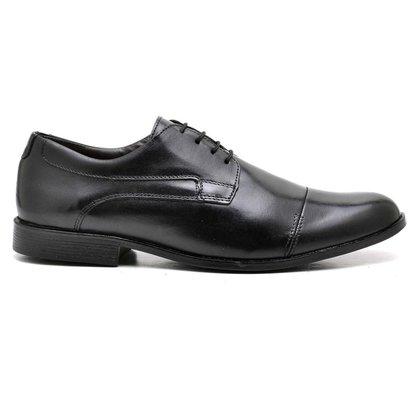 Sapato Social Couro Preto 16800