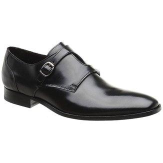 Sapato Social Couro Preto 60052p