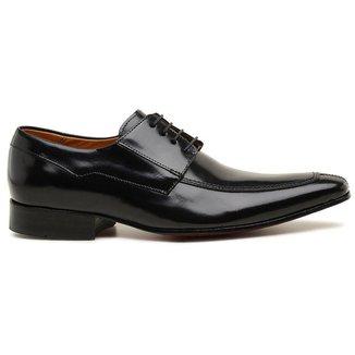 Sapato Social Couro Preto Premium 34640