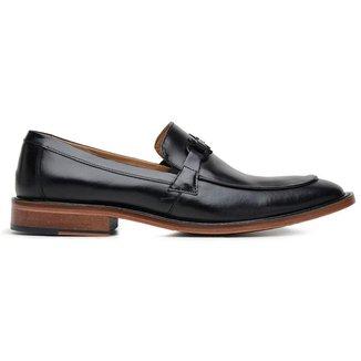 Sapato Social Couro Preto Premium 58850p