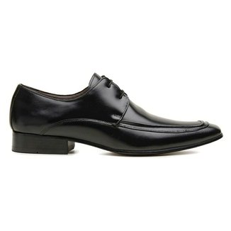 Sapato Social Couro Preto Premium Executive 55829fn