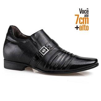 Sapato Social Couro Rafarillo Masculino Antiderrapante Fino
