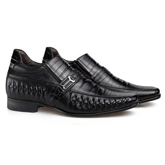 Sapato Social Couro Rafarillo Masculino Tresse Dia a Dia