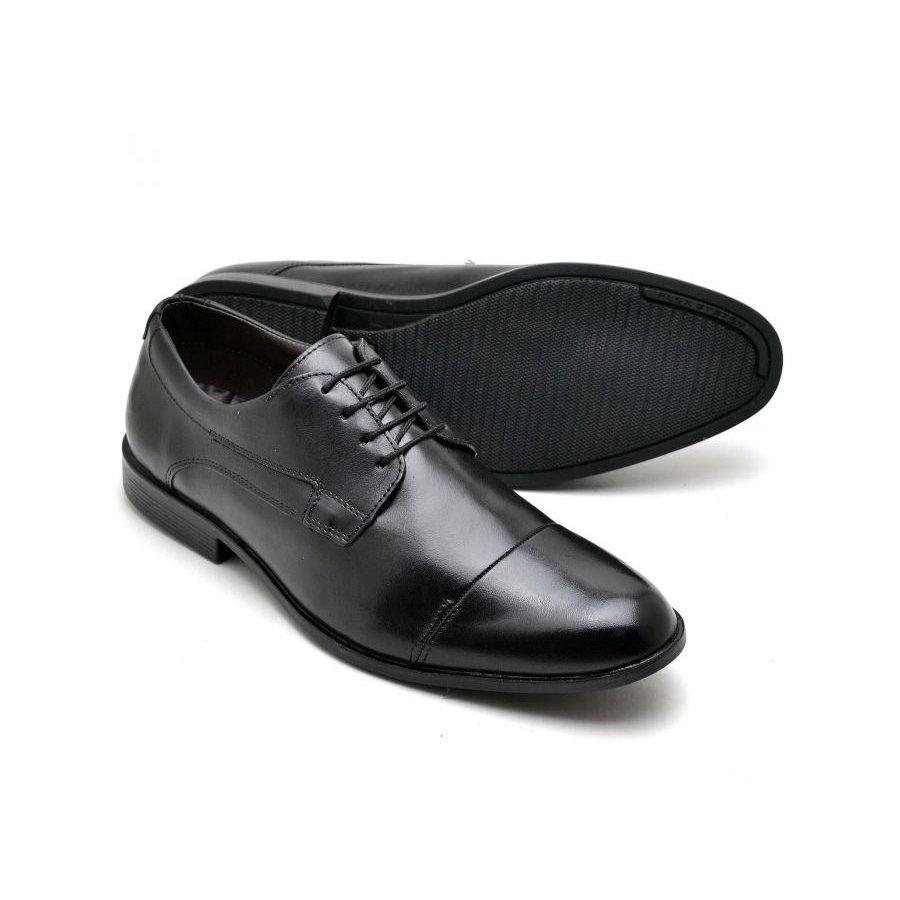Sapato Sapato Reta Social Preto Oposta Couro Couro Reta Masculino Social f7xrwpfq