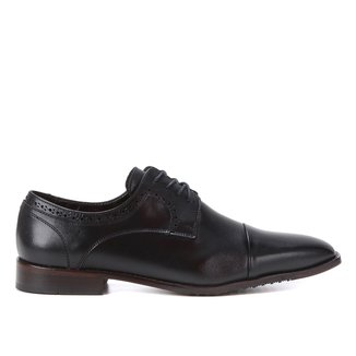 Sapato Social Couro Shoestock Brogues Masculino