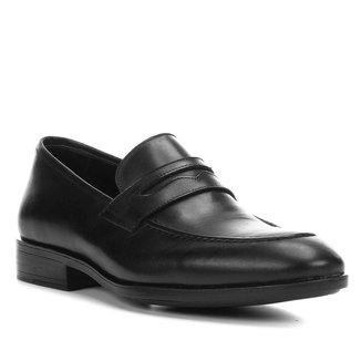 Sapato Social Couro Shoestock Loafer Masculino