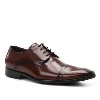 Sapato Social Couro Shoestock Tradicional Romana Masculino