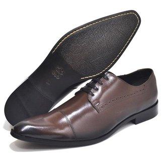Sapato Social Couro Top Franca Shoes Masculino