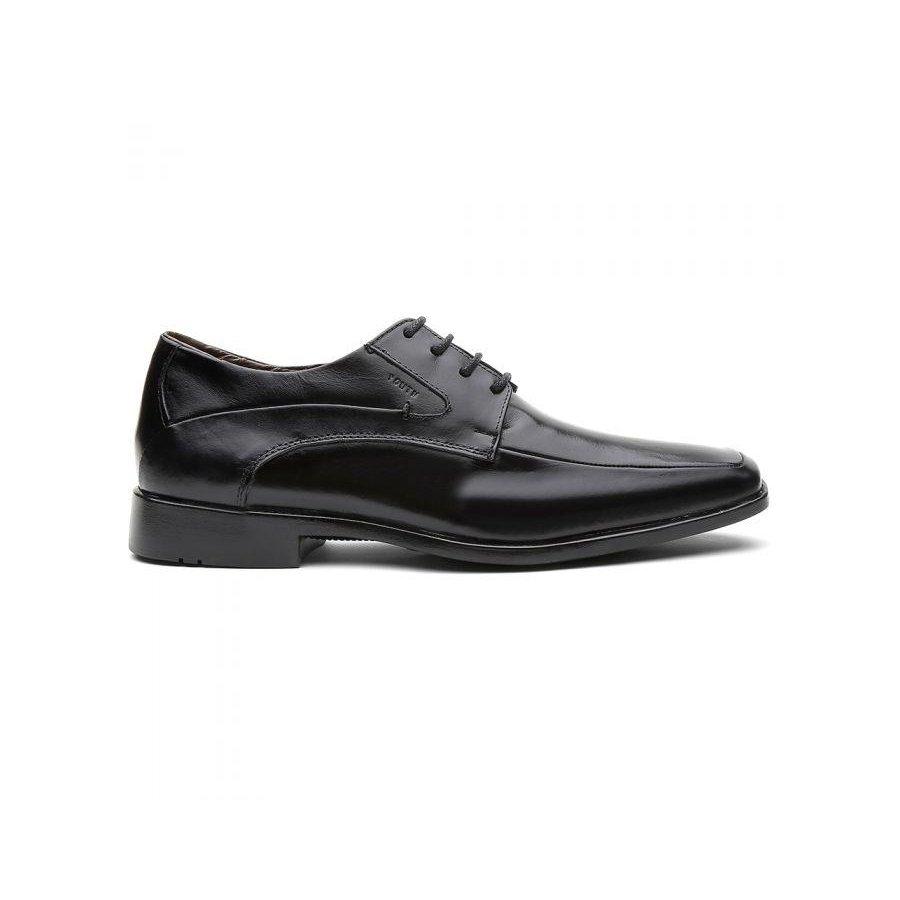 Sapato Sapato Masculino Youth Fly Preto Class Social Pádova Couro Social P5ZdqP