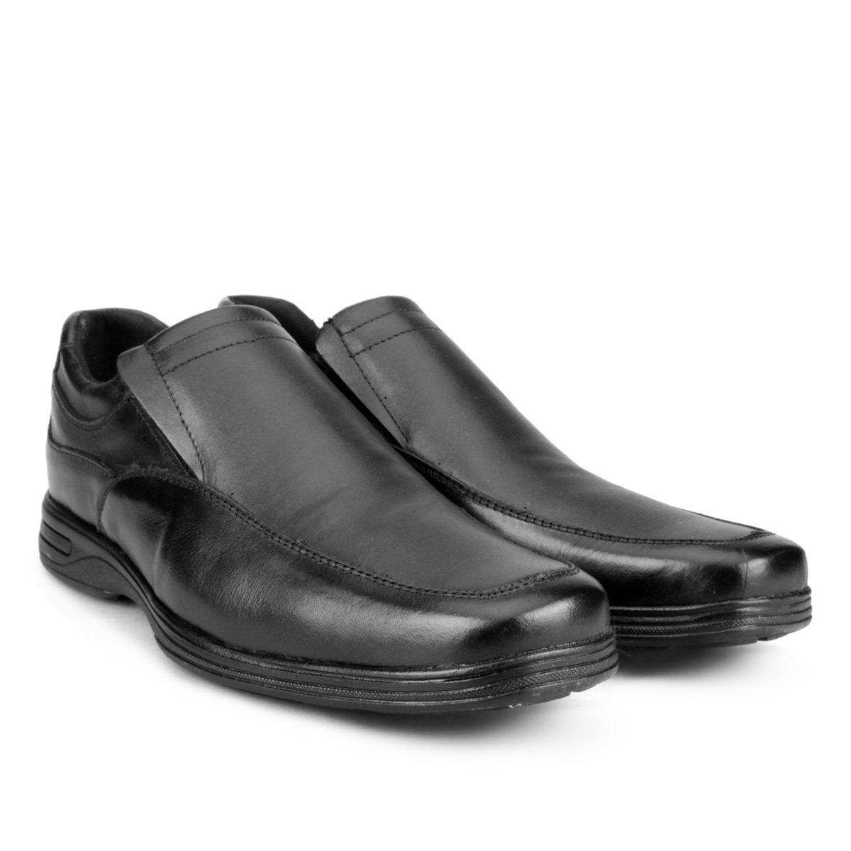 Preto Sapato Social de de Sapato Couro Social Masculino Walkabout R8wOq1xgp