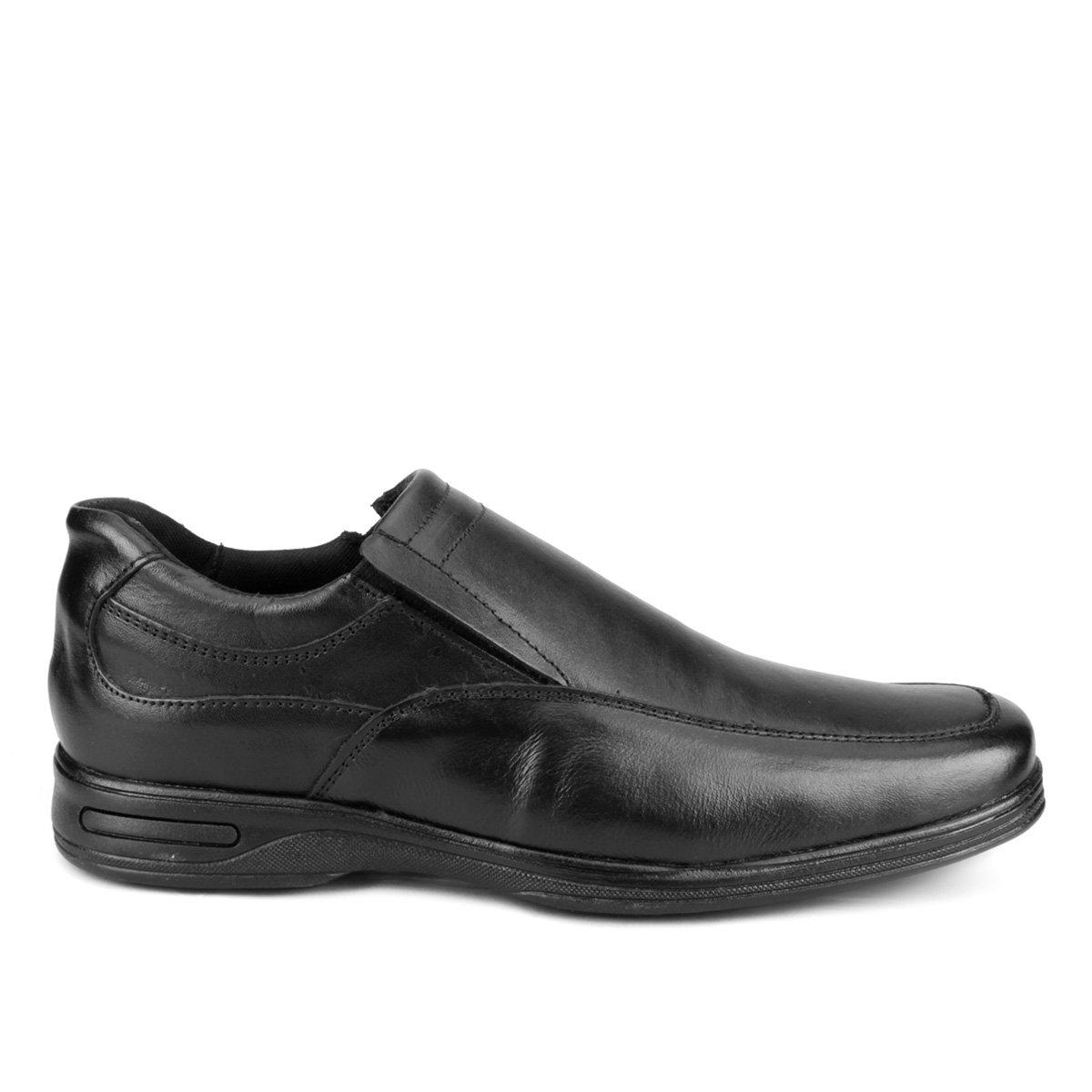 Sapato Preto Social Walkabout Social Couro Sapato Masculino de de qH54RzR