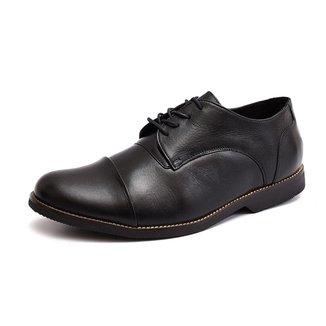Sapato Social Derbi Em Couro Shoes Grand Tamanho Grande