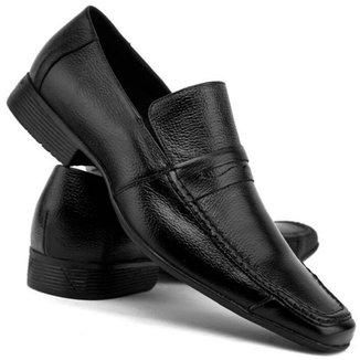 Sapato Social em Couro Yes Basic Bico Fino Masculino