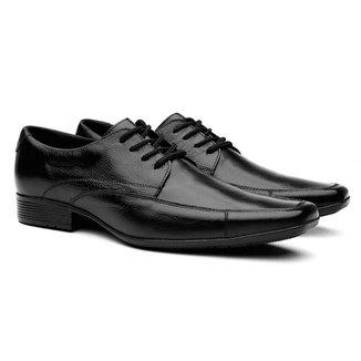 Sapato Social em Couro Yes Basic Cadarço Masculino