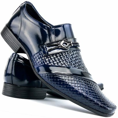 Sapato Social Envernizado Venetto