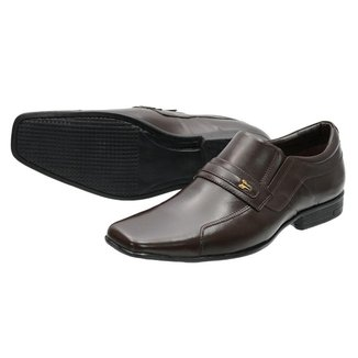 Sapato Social Escrete em Couro Masculino