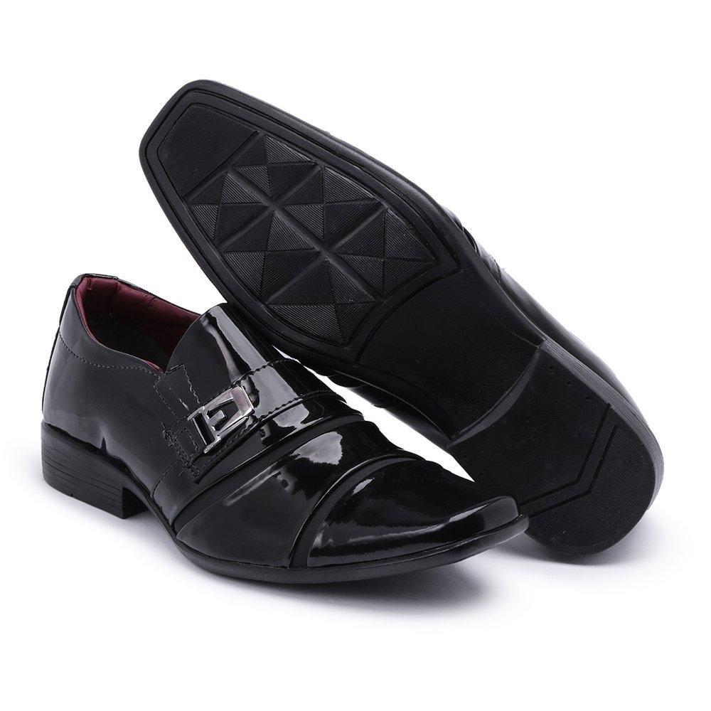 Social Shiareli Preto Sapato Italiano Social Preto Estilo Luxo Luxo Shiareli Sapato Estilo Italiano XOwxdBq