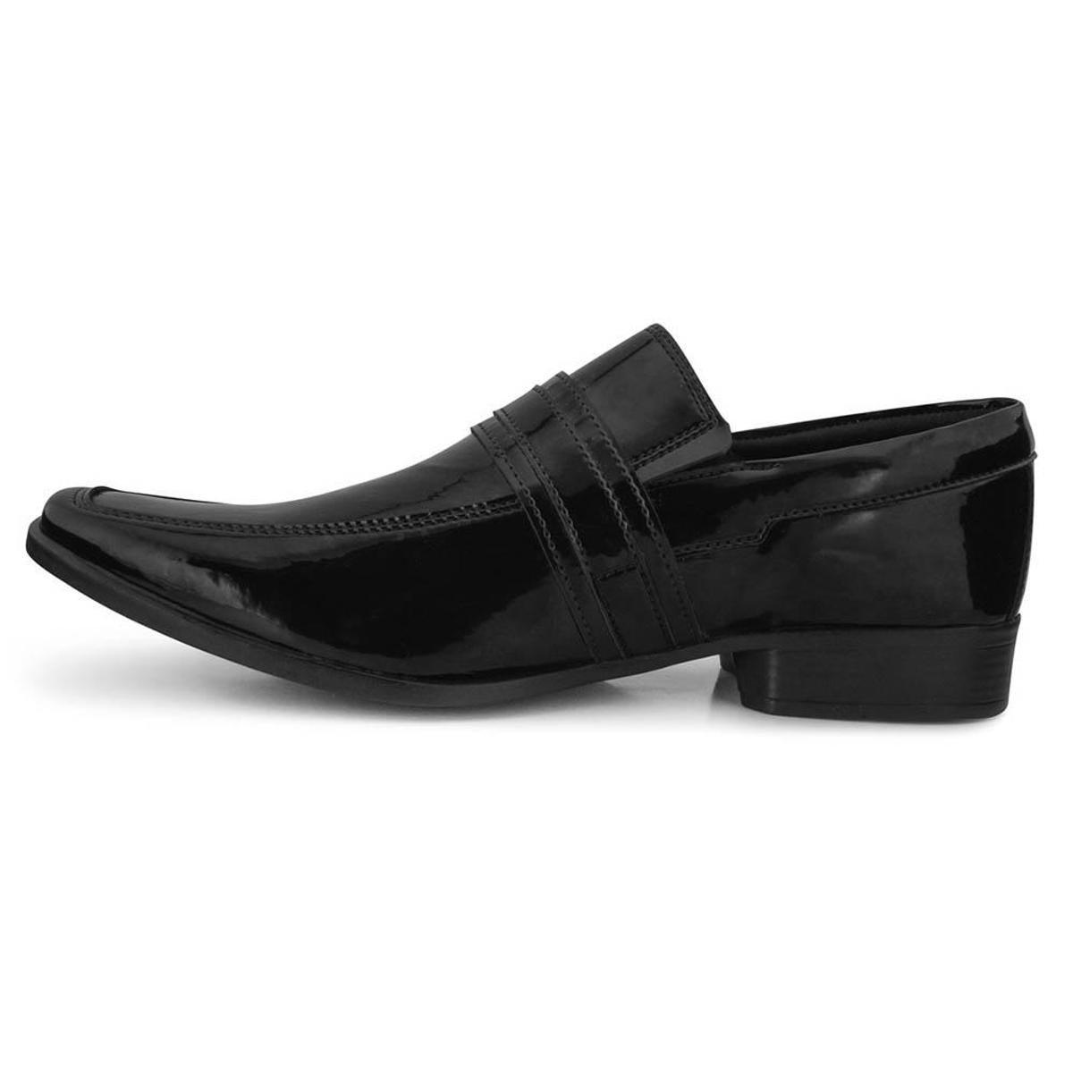 Sapato Social Faraton 7008 Masculino - Preto