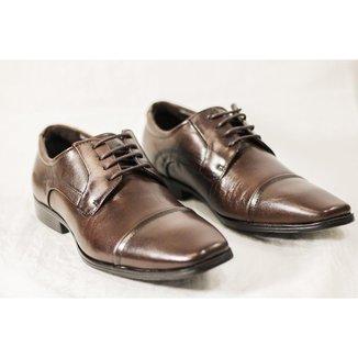 Sapato Social Ferracini Couro Masculino