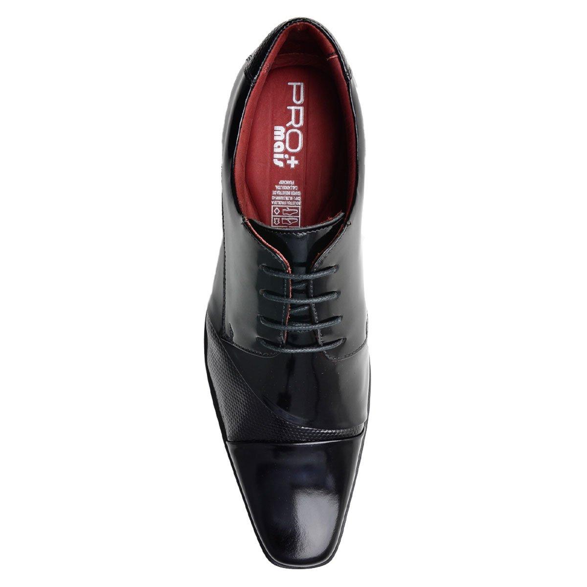 Sapato Social Gofer ProMais 12103A CO - Vermelho