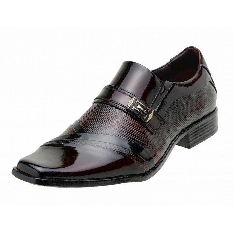 Sapato Social e Gofer Sapato Preto Social Gofer Verniz Vinho 5PwnOqHTn