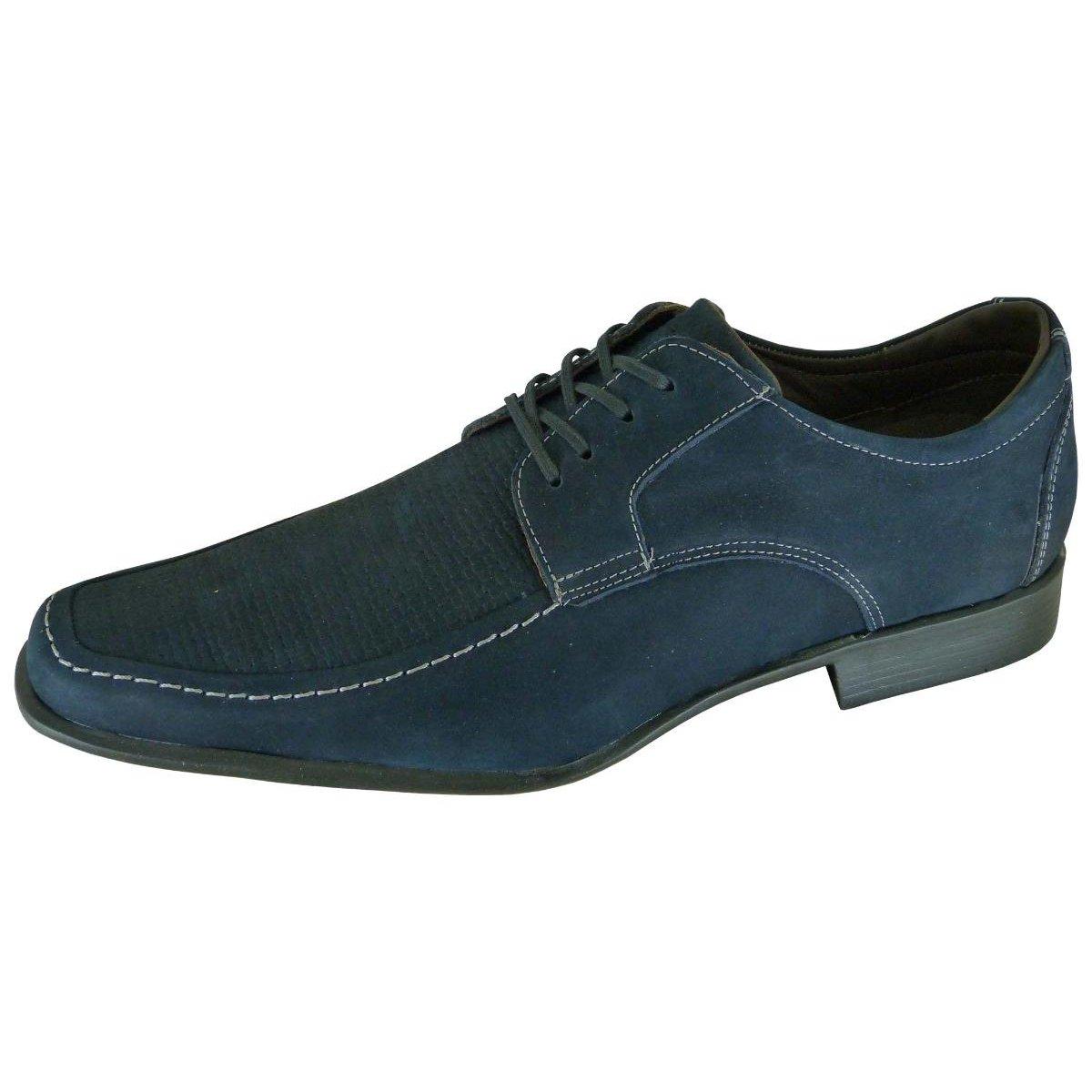 Hanoi com Azul Cadarço Social com Sapato Sapato Social Escuro Stefanello Hanoi Masculino Cadarço qA0wPx88Y