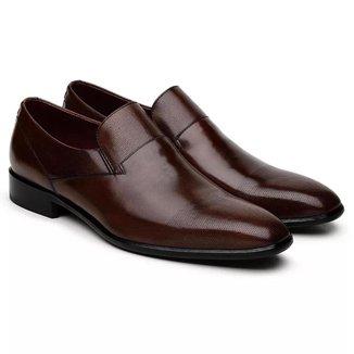 Sapato Social Jacometti Couro Clássico Masculino
