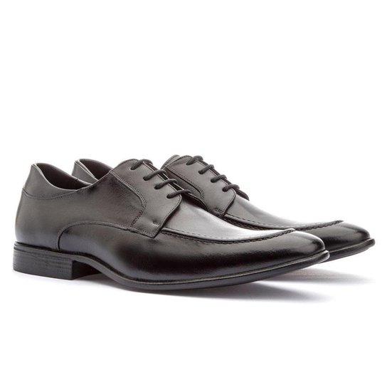 Sapato Social Lavenko Brogue Masculino - Preto